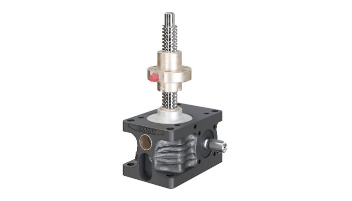 Close-up of screw, available in 8 sizes | 5kN – the newly added 200kN